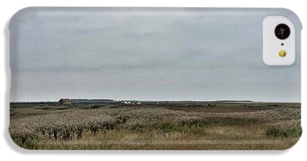 It's A Grey Day In North Norfolk Today IPhone 5c Case