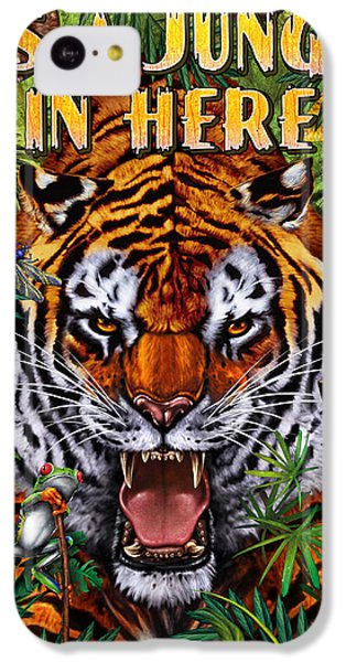 Frogs iPhone 5c Case - It's A Jungle  by JQ Licensing