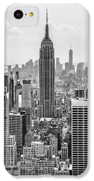 Empire State Building iPhone 5c Case - It's A Jungle Out There by Az Jackson