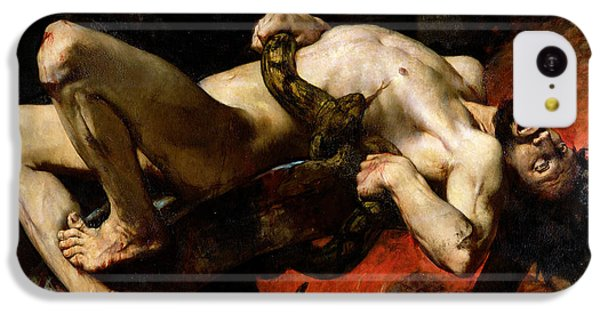 Ixion Thrown Into Hades IPhone 5c Case by Jules Elie Delaunay