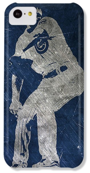 Jake Arrieta Chicago Cubs Art IPhone 5c Case