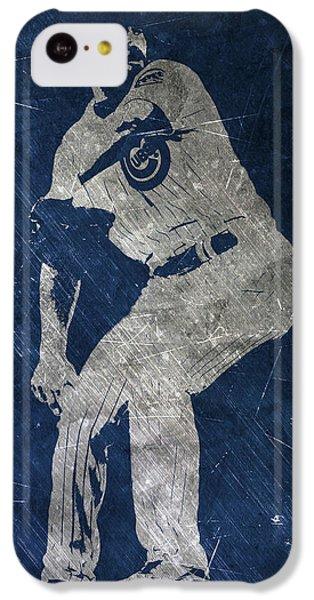 Jake Arrieta Chicago Cubs Art IPhone 5c Case by Joe Hamilton