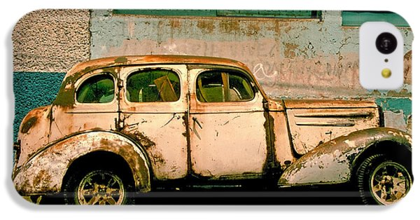 Car iPhone 5c Case - Jalopy by Skip Hunt