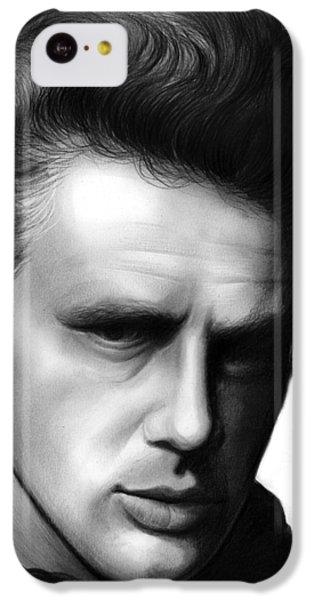 James Dean IPhone 5c Case by Greg Joens