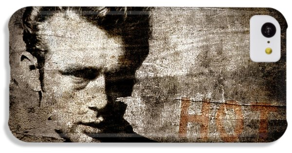 James Dean Hot IPhone 5c Case by Carol Leigh
