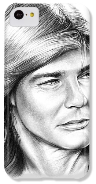 Helicopter iPhone 5c Case - Jan Michael Vincent by Greg Joens