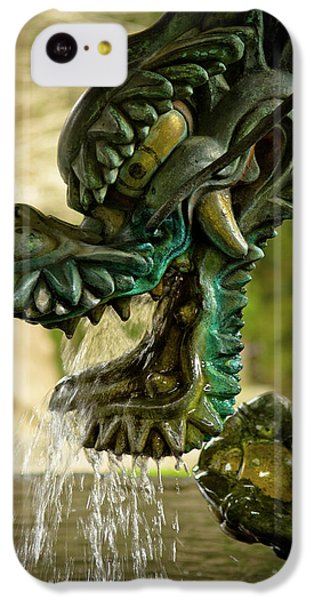 Japanese Water Dragon IPhone 5c Case by Sebastian Musial