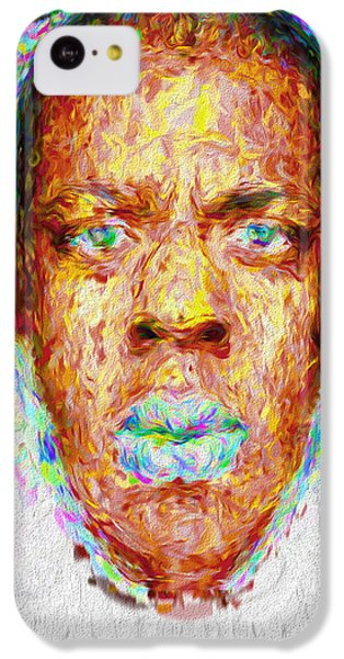 Jay Z Painted Digitally 2 IPhone 5c Case