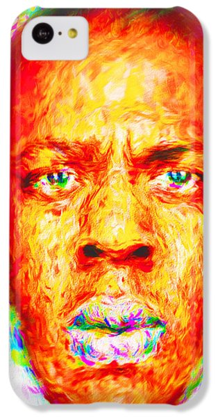 Jay-z Shawn Carter Digitally Painted IPhone 5c Case