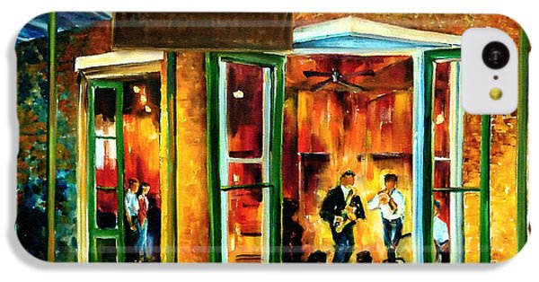 Jazz iPhone 5c Case - Jazz At The Maison Bourbon by Diane Millsap