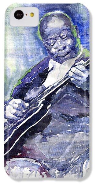 Jazz B B King 02 IPhone 5c Case by Yuriy  Shevchuk