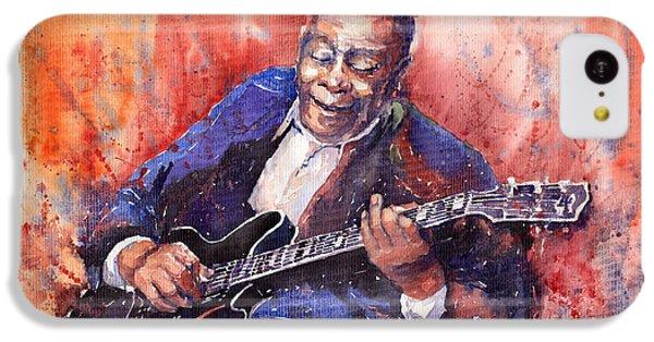 Jazz B B King 06 A IPhone 5c Case by Yuriy  Shevchuk