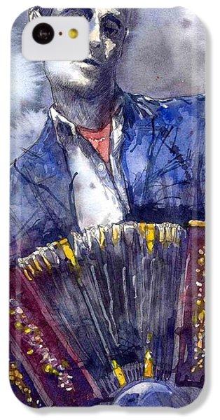 Jazz Concertina Player IPhone 5c Case by Yuriy  Shevchuk