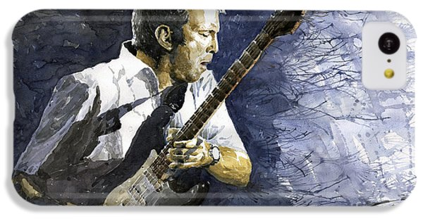 Jazz Eric Clapton 1 IPhone 5c Case by Yuriy  Shevchuk