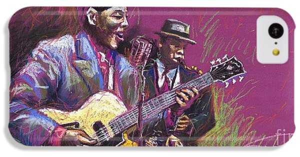 Jazz Guitarist Duet IPhone 5c Case