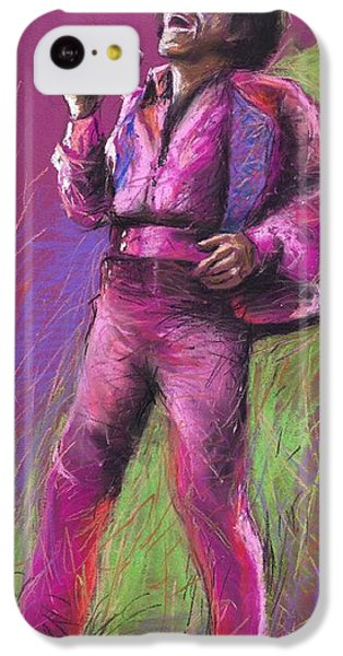 Jazz iPhone 5c Case - Jazz James Brown by Yuriy Shevchuk