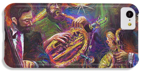 Jazz Jazzband Trio IPhone 5c Case by Yuriy  Shevchuk