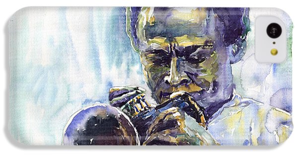Jazz iPhone 5c Case - Jazz Miles Davis 10 by Yuriy Shevchuk
