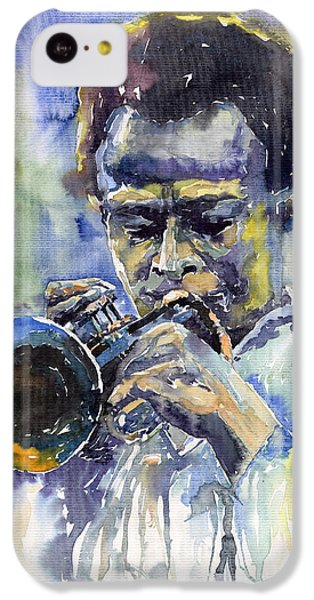 Jazz iPhone 5c Case - Jazz Miles Davis 12 by Yuriy Shevchuk