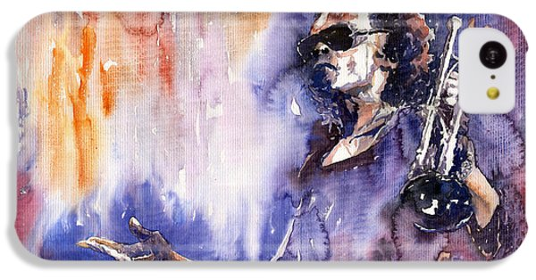 Jazz Miles Davis 14 IPhone 5c Case by Yuriy  Shevchuk