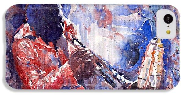 Jazz Miles Davis 15 IPhone 5c Case by Yuriy  Shevchuk