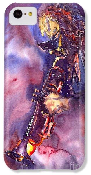 Figurative iPhone 5c Case - Jazz Miles Davis Electric 3 by Yuriy Shevchuk