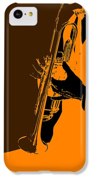 Saxophone iPhone 5c Case - Jazz by Naxart Studio