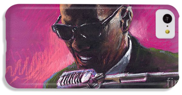 Jazz iPhone 5c Case - Jazz. Ray Charles.1. by Yuriy Shevchuk