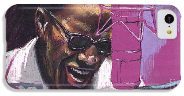 Figurative iPhone 5c Case - Jazz Ray by Yuriy Shevchuk
