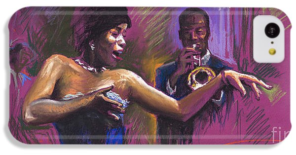 Jazz iPhone 5c Case - Jazz Song.2. by Yuriy Shevchuk