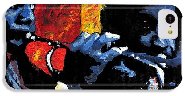 Figurative iPhone 5c Case - Jazz Trumpeters by Yuriy Shevchuk