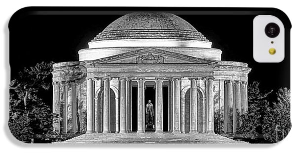 Jefferson Memorial Lonely Night IPhone 5c Case by Olivier Le Queinec