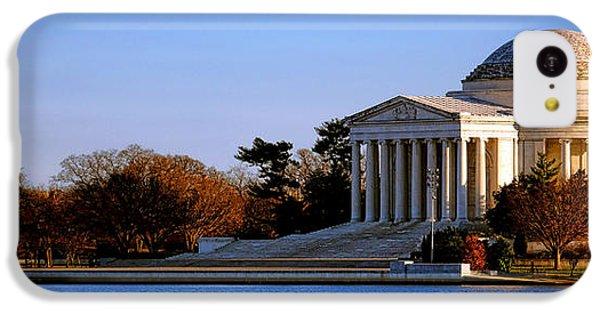 Jefferson Memorial Sunset IPhone 5c Case by Olivier Le Queinec
