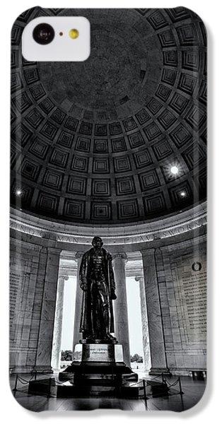 Jefferson Memorial iPhone 5c Case - Jefferson Statue In The Memorial by Andrew Soundarajan