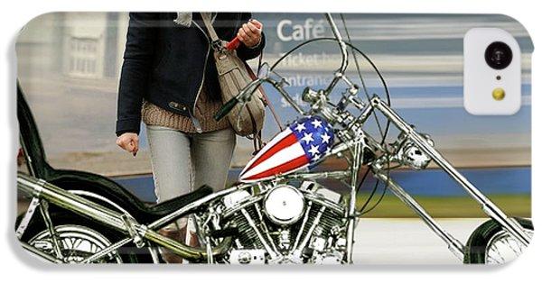 Jessica Alba, Captain America, Easy Rider IPhone 5c Case