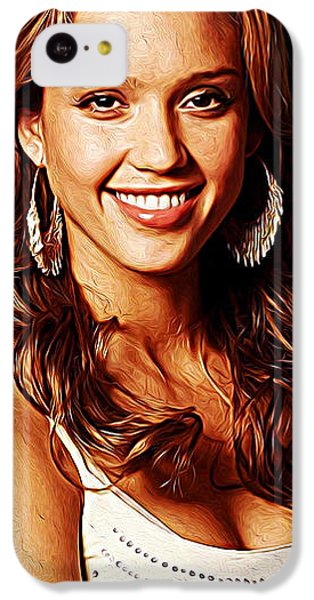 Jessica Alba IPhone 5c Case