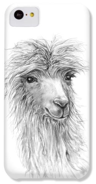 Llama iPhone 5c Case - Jessica by K Llamas