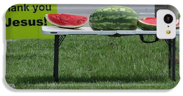 Jesus Watermelon IPhone 5c Case
