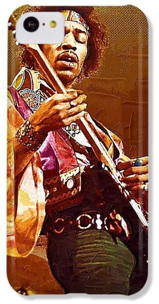 Jimi Hendrix Art IPhone 5c Case