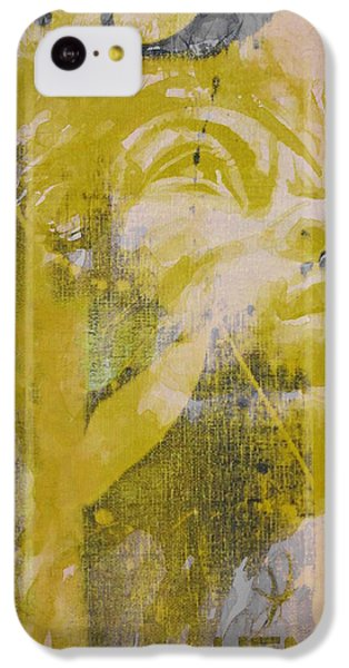 Seattle iPhone 5c Case - Jimi Hendrix Art  by Paul Lovering
