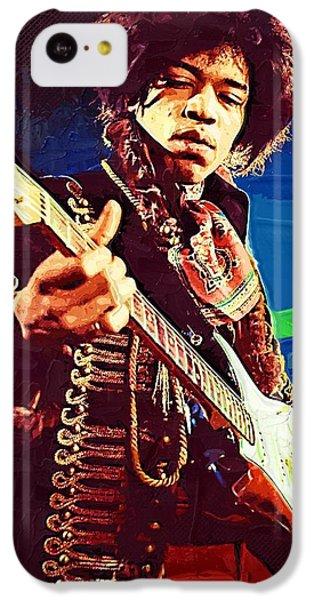 Jimi Hendrix Icon IPhone 5c Case