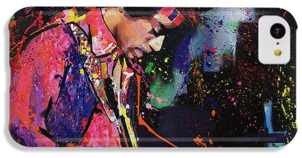 Jimi Hendrix II IPhone 5c Case by Richard Day