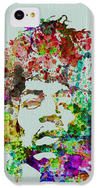 Jimmy Hendrix Watercolor IPhone 5c Case