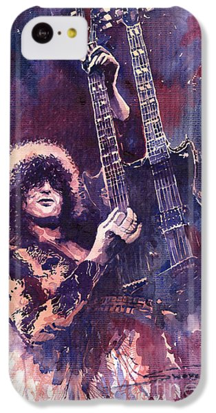 Jimmy Page  IPhone 5c Case by Yuriy  Shevchuk
