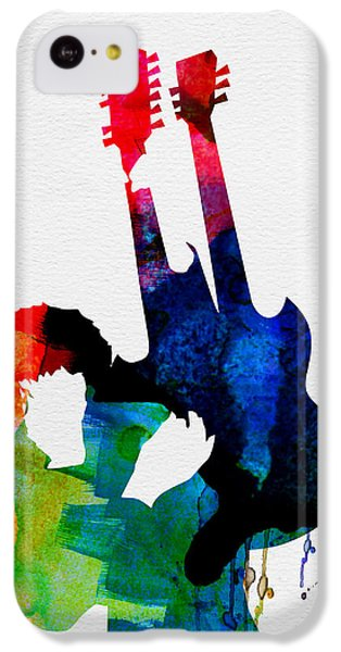 Jimmy Watercolor IPhone 5c Case