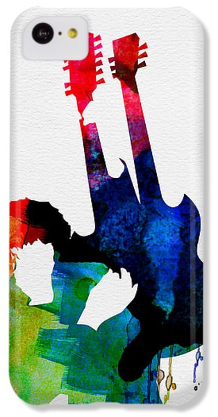 Jimmy Watercolor IPhone 5c Case by Naxart Studio