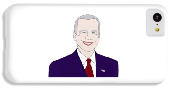 Joe Biden IPhone 5c Case by Priscilla Wolfe