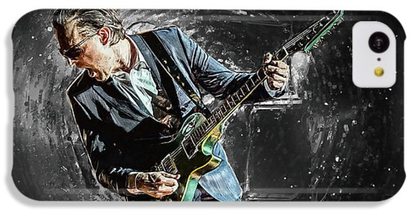 Eric Clapton iPhone 5c Case - Joe Bonamassa by Zapista