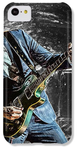 Joe Bonamassa IPhone 5c Case by Taylan Apukovska