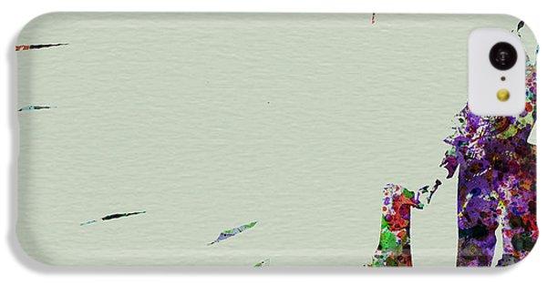 Saxophone iPhone 5c Case - Joe Henderson Watercolor 2 by Naxart Studio